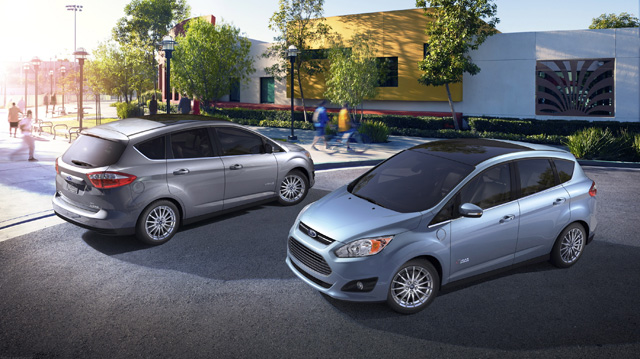 Ford battles Toyota with C-Max Hybrid