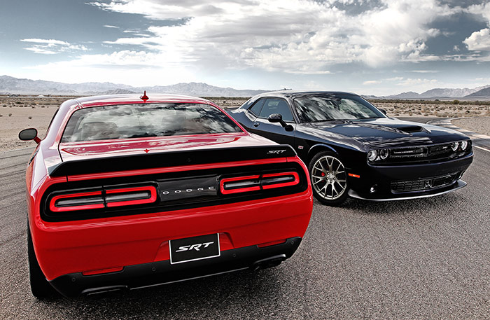 Henry Payne » Pumping iron: The 2015 Dodge Challenger