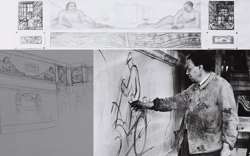 artists diego rivera and frida kahlo spent 11 months in depression era detroit rivera s detroit industry murals now considered a cultural gem