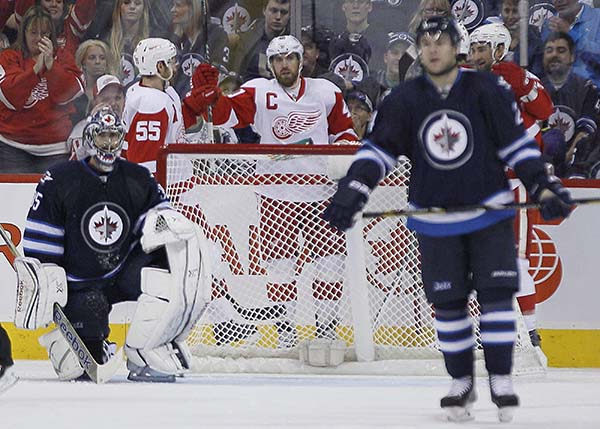 Jets Ground Red Wings To Spoil Hopes For Perfect Trip